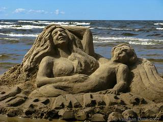 Sand Sculpture, Jurmala