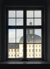 Closed window (uhx72) Tags: castle gotha germany palace architecture friedenstein baroque window thuringia thüringen