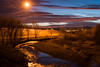 Dusk #2 (Lukas Gordon) Tags: grass westminster landscape calm water outdoor clouds longexposure 2017 tree pink photography colorado sky portfolio rocks clearcreek lukasgordon