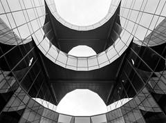 Batman Building, London (davehyper) Tags: batman building mamiya 645 super 45mm sekor c lens ilford delta 100 film photography bw steamer davehyper london dave chapman dj
