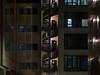 CCTV in operation (Cosimo Matteini) Tags: cosimomatteini ep5 olympus pen m43 mzuiko45mmf18 london spitalfields architecture building stairs night cctvinoperation