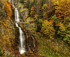 Bujaruelo (Robeck Photography) Tags: spain forest ordesa bujaruelo otoño autumm waterfall water cascada tree light color aragón huesca sobrarbe