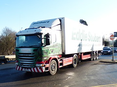 PE14XUX (47604) Tags: pe14xux l7723 eddie stobart jaqueline cassie lorry truck hgv scania a5 weedon