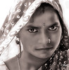 Deep eyes and character... (India) (Guy World Citizen) Tags: blackwhite woman eyes character rural india ngc