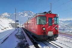 MGB - Station Nätschen Oberalp (Kecko) Tags: 2017 kecko switzerland swiss schweiz suisse svizzera innerschweiz zentralschweiz uri nätschen oberalp pass oberalppass matterhorngotthardbahn railway railroad mgb eisenbahn bahn bahnhof station train zug winter schnee snow swissphoto geotagged geo:lat=46642170 geo:lon=8611530