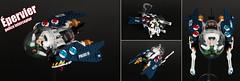 """EPERVIER"" Ostrichean  light interceptor (Shamisenfred) Tags: lego interceptor star fighter ostrich police"