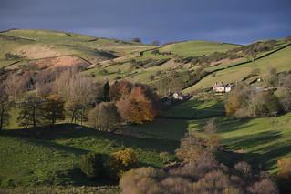 Autumn Colours, Peak District National Park, Derbyshire, England.
