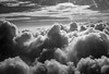 Tower power (OzzRod) Tags: pentax wg3 aerial oblique planewindowview monochrome blackandwhite sky clouds cumulus towers convection northpacificocean oahu hawaii