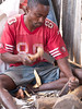 wood carver (geneward2) Tags: wood carver souvenir tanzania