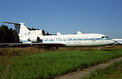 CCCP-42302 - Monino Museum 20.08.2001 (Jakob_DK) Tags: yk42 yakovlev42 yakovlev yakovlevyak42 yak42 yak42clobber monino centralrussianairforcemuseum afl aeroflot 2001 cccp42302
