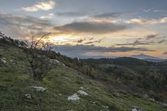 Dawn at Montecuccoli (Marco Pulidori 2.0) Tags: dawn autumn sunrise calvana montecuccoli poggio alba cold fall tuscany italia toscana italy prato hiking trekking hike morninghike