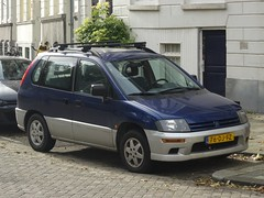 1999 Mitsubishi Space Runner (harry_nl) Tags: netherlands nederland 2017 rotterdam mitsubishi spacerunner 76djfz sidecode6