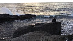 Escape from the Busy Life (christinabliznyuk) Tags: mine waves crash rocks water ocean