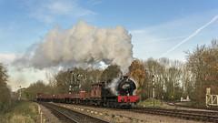 Steam Halo (4486Merlin) Tags: england europe goodstrain greatcentralrailway heritagerailways industrialsteam midlands railways transport unitedkingdom swithlandsidings leicestershire gbr 68067 hudswellclarke exwd lasthurrahgala