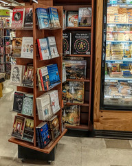 Books On Display At Wegman's. (One Day Of Sun -- It's So Lovely!!!) Tags: odc books display wegmans ithacany store enormous dairycase cards aisle goya
