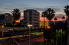 Sunrise in Orange (Æ Adrian Esparza) Tags: nikon sunrise amanecer orange california palm palma building edificio d7000