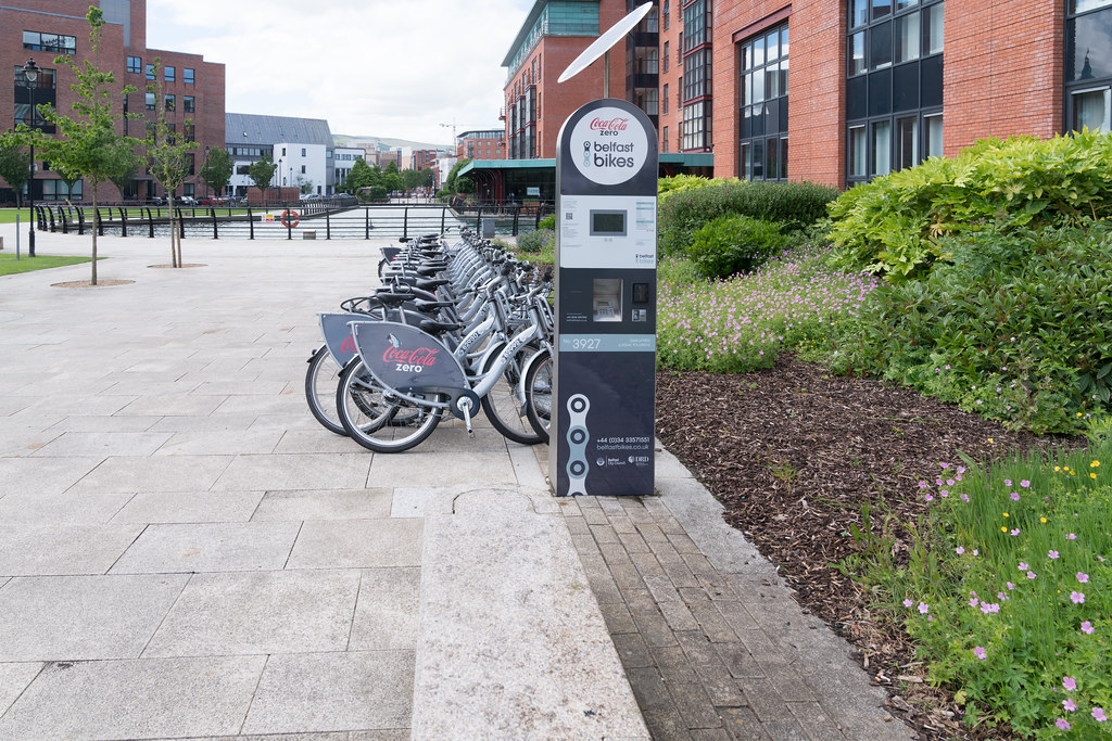 BELFAST BIKES DOCKING STATION 3927 [GASWORKS - LAGAN TOWPATH]-134065