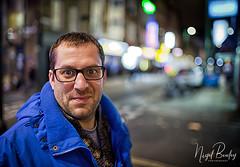 STEVE 1 (Nigel Bewley) Tags: stevewheller bricklane london england uk towerhamlets street portrait night nightshot unlimitedphotos november november2017 nigelbewley londonist photologo jew jewish yiddishkeit punim galus diaspora bokeh