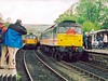GROSMONT 280402 33108 & 47826 (SIMON A W BEESTON) Tags: grosmont nymr north yorkshire moors railway fragonset 33108 springburn intercity 47826
