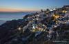 Oia (Rolandito.) Tags: europa europe greece grèce griechenland grecia hellas santorin santorini oia ia sunset sea dusk twilight light lights