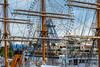 Yokohama (DanÅke Carlsson) Tags: japan japanese yokohama harbor sailing ship rig ferris wheel masts