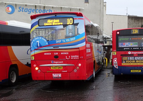Stagecoach Bluebird 54831 YX67 URH