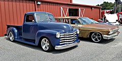 Local show n' shine (Dave* Seven One) Tags: carshow chevy classic vintage hotrod custom cool advancedesign