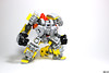 """""""Make greeble great again!"""" (Devid VII) Tags: make greeble great again devid vii lego moc mecha suit mech work workbots yellow"""