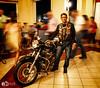 Shifted - Cuban Biker in Memories Hotel - Varadero - Cuba (D. Pacheu) Tags: moto biker motorbike cuban cuba memories hotel hall people blur shifted bike