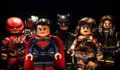 All in (Sir Prime) Tags: lego dc dceu superman batman wonderwoman cyborg theflash aquaman custom moc