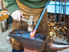 Blacksmith (stewartl2010) Tags: craftsman scroll artisan anvil glowing mildsteel blacksmith hot brickworks colorefexpro4 bursledon museum hammer hampshire nikfilters crafts metalworker forge uk bar swanwick england unitedkingdom gb