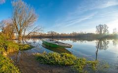 river Kupa (38) (Vlado Ferenčić) Tags: kupa rivers vladoferencic croatia vladimirferencic hrvatska boat sky riverkupa nikond600 sigma1528fisheye