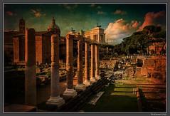 Roma_Forum_Italia (ferdahejl) Tags: roma forum italia dslr canondslr canoneos800d historia antica ruine mura romano architecture ancientrome ancientworld romanstate city ruins history