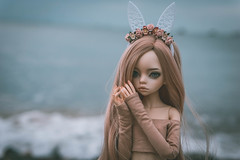 Dakota and the sea (Ilweranta) Tags: doll dim larina dollzone bjd msd