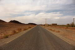 Desert Road (T is for traveler) Tags: traveling travel traveler tisfortraveler exploration digitalnomad photography backpacker summer trip africa morocco desert sahara road street abandoned landscape rock sand sky canon 700d 1855mm