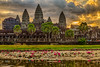Angkor Wat at sunrise by the lake with lotus flowers (2) (Evgeny Gorodetskiy) Tags: hdr landscape asia travel angkorwat cambodia angkor temple siemreap krongsiemreap siemreapprovince kh