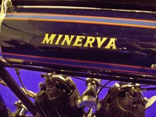 590 Minerva (Motorcycle) Tank Badge - History