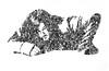 384 (hillel_018) Tags: norman mark reedus the boondock saints walking dead daryl dixon badass hillel zavala hillelzavala scribbles odissey artwork london uk challenge you me art details diary needs thankyou anxiety excited 2017 monochrome surreal texture illustration