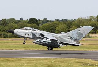 German Air Force (Luftwaffe) Panavia Tornado ECR 46+54