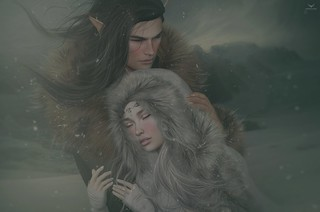 Julian and Aleriah~Feeling Safe and Warm...