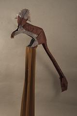 Cottontop tamarin de Kunsulu Jilkishiyeva (Pere Olivella) Tags: cottontop tamarin titi mono monkey primate origami papiroflexia mico olympiad kunsulu