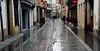 calle agua, villaviciosa (Roger S 09) Tags: asturias villaviciosa cascohistórico calleagua lluvia rain oldtown