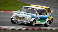 """ Around The Outside "" (simonjohnsonphotography.uk) Tags: swifttune brandshatch mini nickpadmore nikonmotorsport nikond850 nikon simonjohnsonphotography minimigliachampionship motorsport druids nikonuk racing"