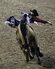 0246937421-95-Cowboy Bareback Riding at the 2017 National Finals Rodeo-9 (Jim There's things half in shadow and in light) Tags: 2017 america american lasvegas nfr nationalfinals nevada rodeo southwest thomasandmack usa unitedstates action animal cowboy december sports western barebackriding horse bucking roughstock