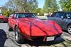 Chevrolet Corvette C3 (Monde-Auto Passion Photos) Tags: voiture vehicule auto automobile chevrolet corvette c3 coupé rouge sportive rare rareté ancienne classique red france barbizon
