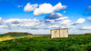 lost container (K.H.Reichert [ not explored ]) Tags: wiese countryside landscape landschaft himmel agriculture sky feld clouds wolken natur mountain