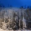 Blue hour in the Finnmark (lunaryuna) Tags: norway alta finnmark landscape seasonalwonders winter seasons waterfall frozenmotion ice icicles bluehour lunaryuna