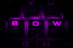Buttons & Bow (James C. Photography) Tags: buttons bow macro mondays close keyboard purple nikon d3300