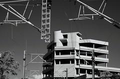 Day 342 : Is for ... The Age Of The Machines (Storyteller.....) Tags: 365 deep365 nikon nikon365 machine building construction skeleton iron cement blackandwhite blackwhite city architecture