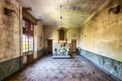 Silent prayer (Photonirik) Tags: urbex decay urban exploration oblivion abandoned abandonné oubli forgotten ue dust